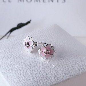 Pandora Magnolia Bloom Earring Studs